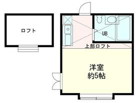 ドミシルAya七番館・203号室の間取り