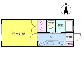 アイリスORIHARAⅡ 113号室の間取り