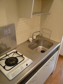 ダイナフォート日本橋 304号室のキッチン