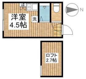 アーバンプレイス東高円寺B・0203号室の間取り