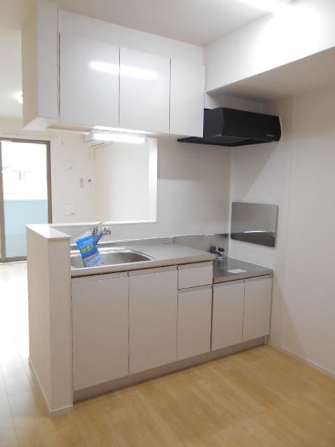 オルタンシアⅡ 01050号室のキッチン
