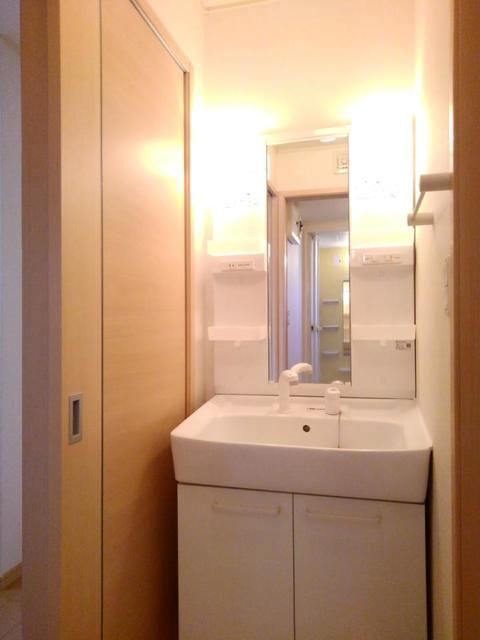 スペースKⅠ 01020号室の洗面所