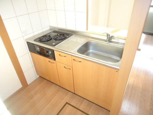 アクアサイド 101号室のキッチン