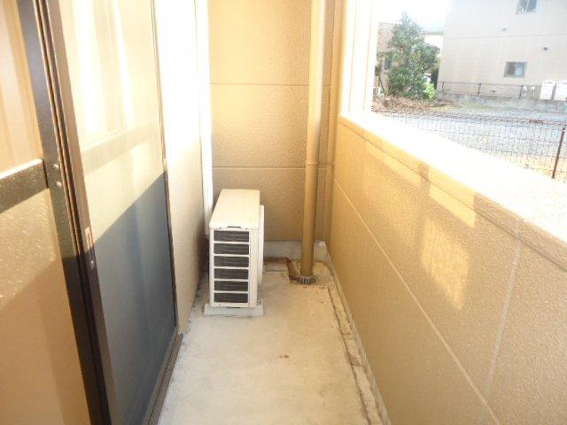 アクアサイド 101号室のバルコニー