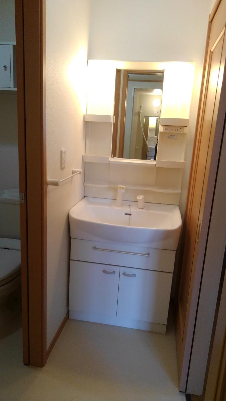 シェーロ・ステラートA 01030号室の洗面所