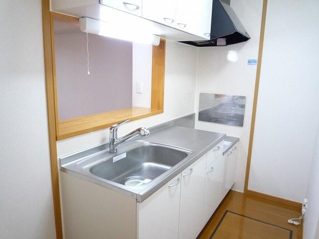 シェーロ・ステラートA 01030号室のキッチン