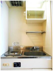 アルスA 203号室のキッチン