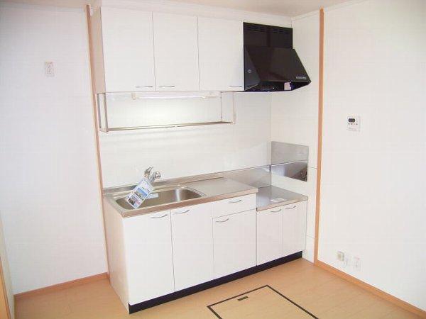 アンヴィラージュ C 01030号室のキッチン