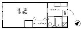アムール西横浜・203号室の間取り