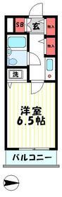 ライオンズマンション東青梅第三・211号室の間取り