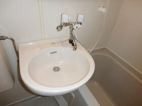 レ・パレス砂川七番 0202号室の洗面所