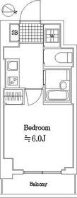 スカイコート大森第5・208号室の間取り