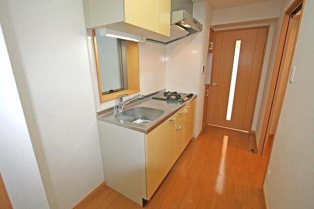 アヴェニール月島 402号室のキッチン