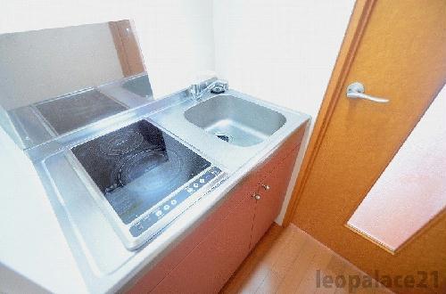 レオパレス田村 310号室のキッチン