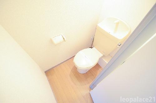 レオパレスサンヒル樋井川 104号室のトイレ