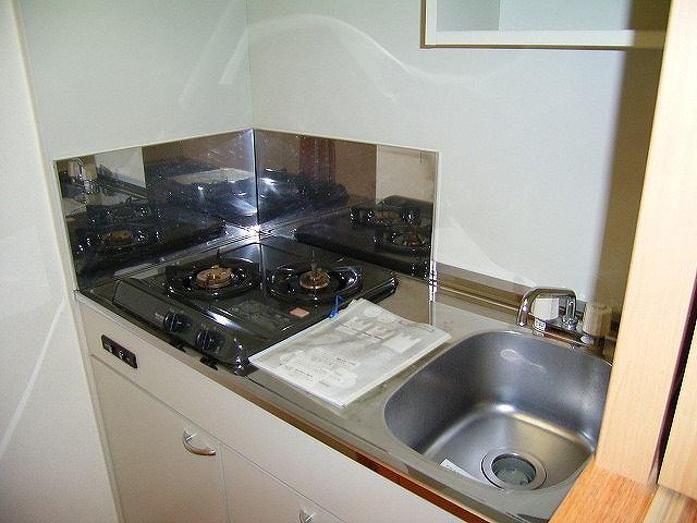 エバー グリーン 01020号室のキッチン