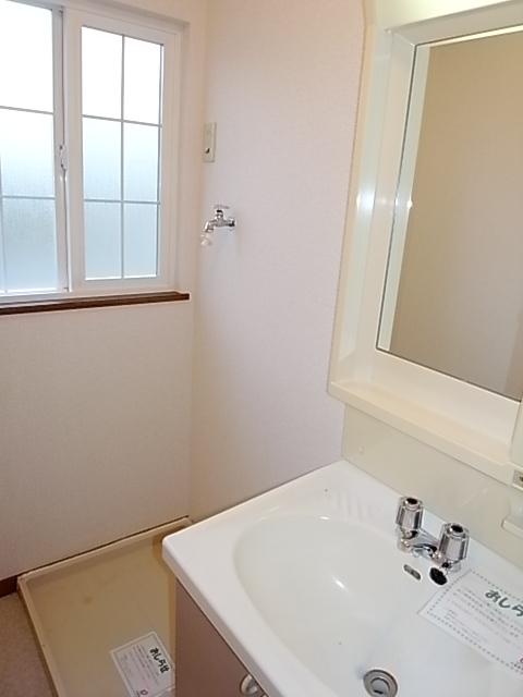 クレストール一ノ坪2番館 01010号室の洗面所