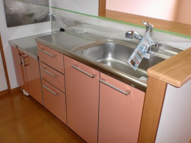 ヴェルソーⅢ番館 01030号室のキッチン
