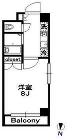 OLIO東神田・901号室の間取り