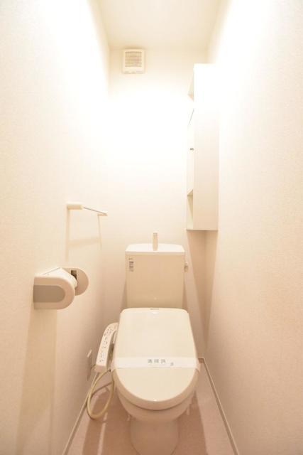 ヒマソール 01010号室のトイレ
