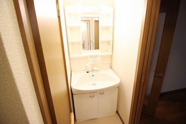 L・シャルマン A 01020号室の洗面所