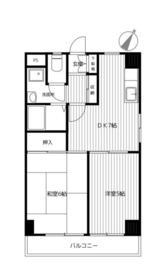グリーンハイツ南軽井沢・101号室の間取り