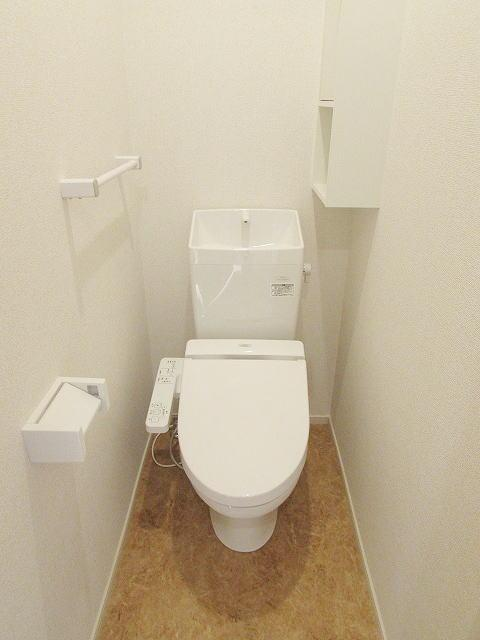 Hills平尾西 01010号室のトイレ