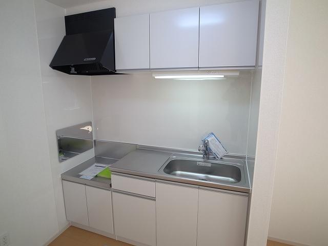 キャトルサンク 01020号室のキッチン