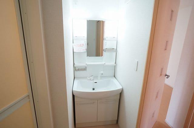 キャトルサンク 01020号室の洗面所