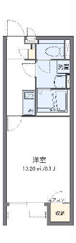 クレイノFLORA 宇美Ⅱ・104号室の間取り