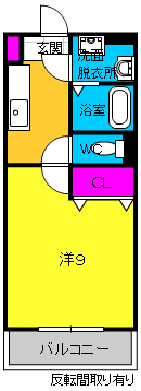 Shibuya一番館・205号室の間取り