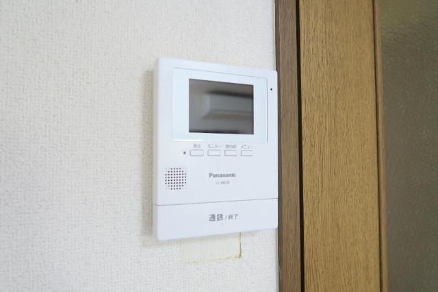 サンヒルズ平和 201号室のセキュリティ