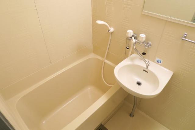 サンヒルズ平和 201号室の風呂