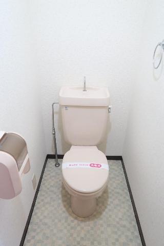 サンヒルズ平和 201号室のトイレ
