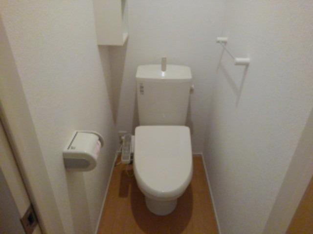 ベル シャトー 01010号室のトイレ