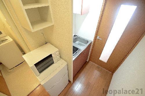 レオパレス田村 309号室のトイレ