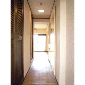 ロマネスク大橋レディース 303号室の玄関