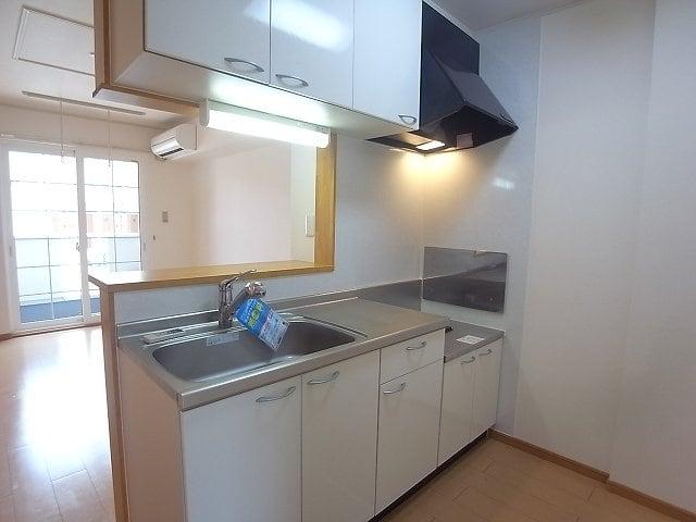 アルバ・カ-サB 01030号室のキッチン