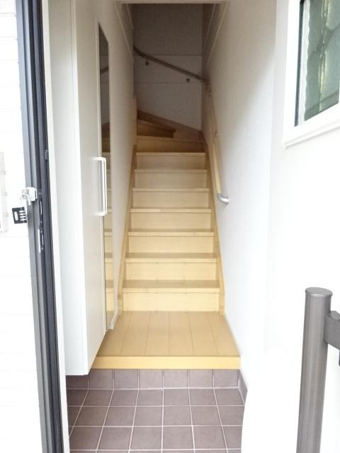 プリムヴェール 02020号室の玄関