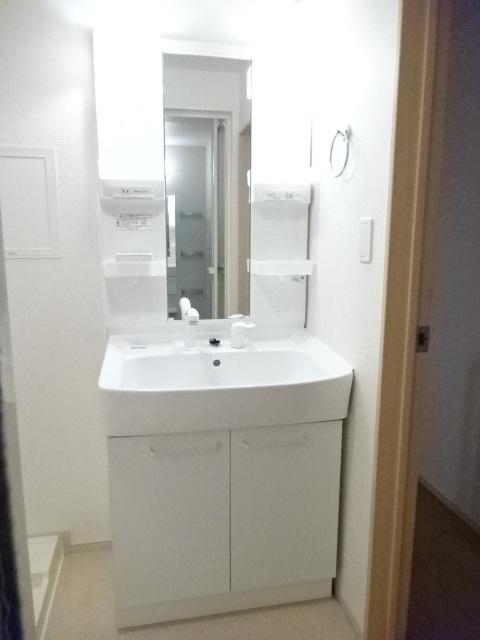 プリムヴェール 02020号室の洗面所