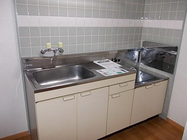 ニューエルディム小松 02030号室のキッチン