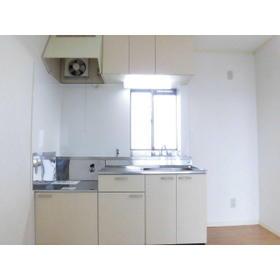 ビューハイツ榊原 A202号室のキッチン