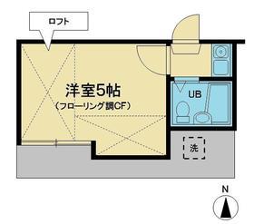 グランドール和田町A棟・101号室の間取り