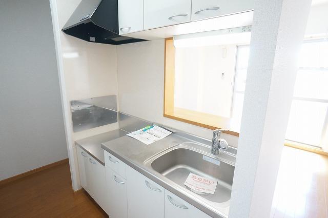 山王ハウス E 03030号室のキッチン