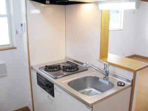 ひまわり 02030号室のキッチン