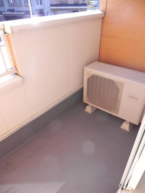 ソル・レヴェンテⅡA 02030号室のバルコニー