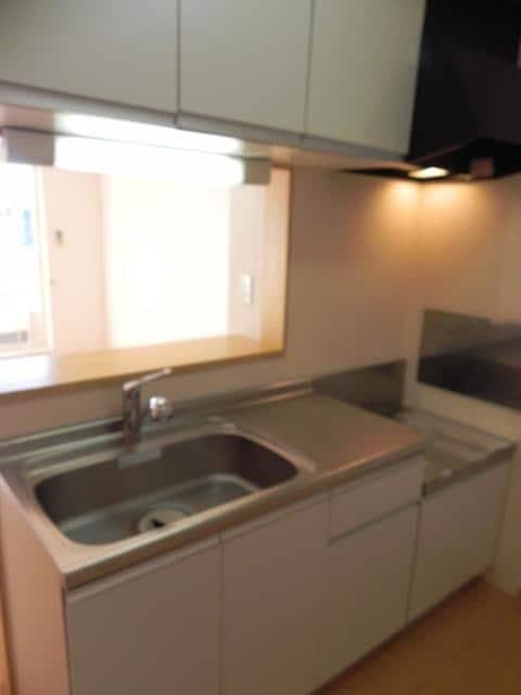 ソル・レヴェンテⅡA 02030号室のキッチン