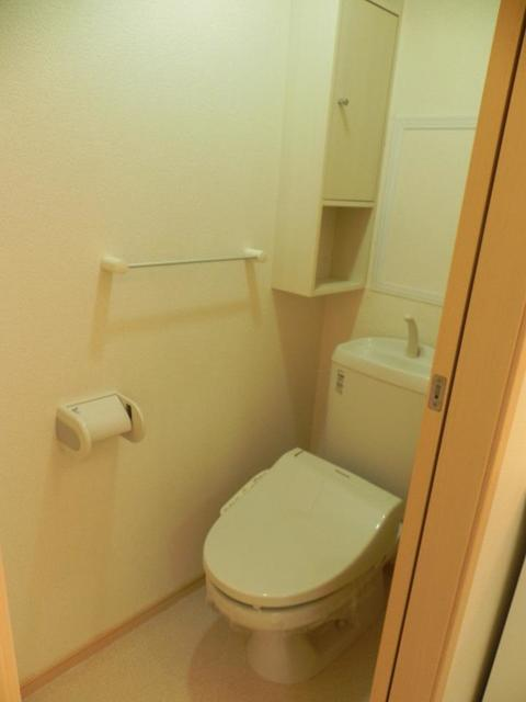ソル・レヴェンテⅡA 02030号室のトイレ