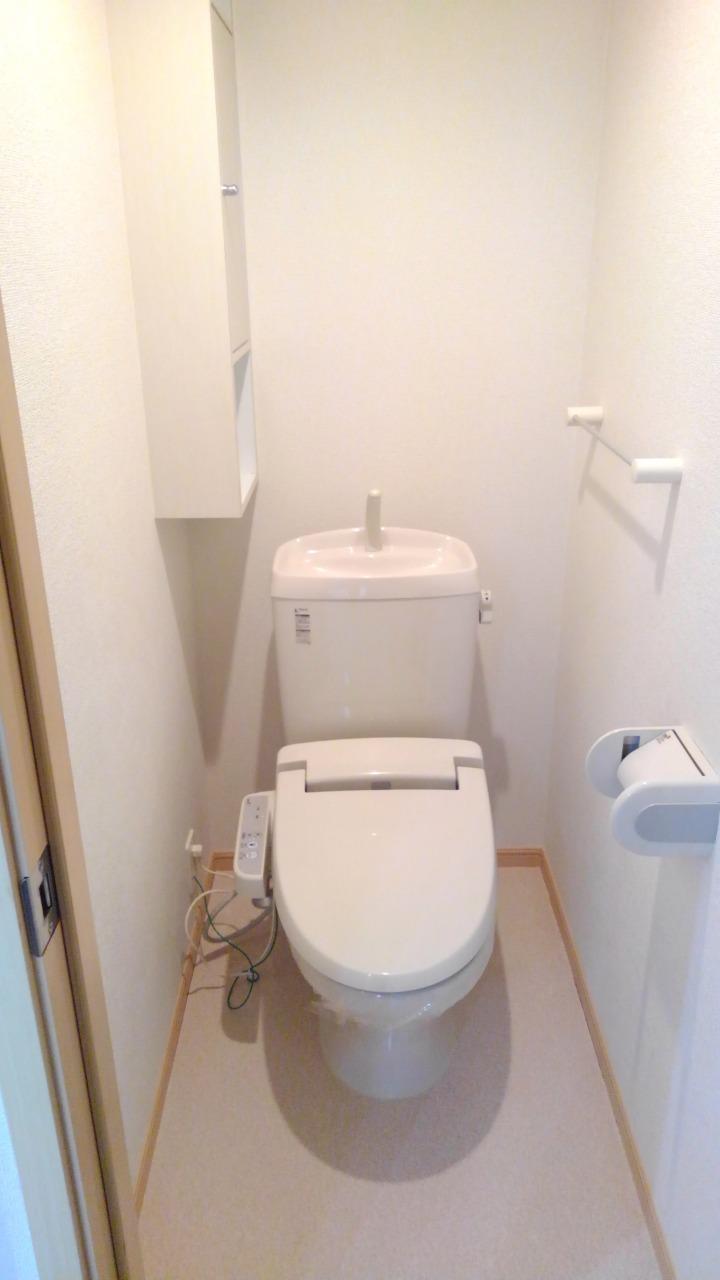 プライム パレス 02040号室のトイレ