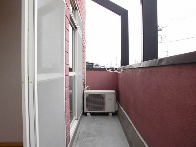 パルネット石田 02010号室のバルコニー